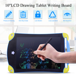 Wholesale graphics designing resale online - 8 inch Colorful LCD Design Handwriting Pad Mini Writing Tablet Electronics Graphic Drawing Board Children Writing Toys