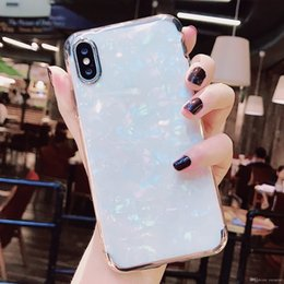 $enCountryForm.capitalKeyWord Australia - Wholesale retail Gorgeous Blu-Ray Housing Back Cover Soft TPU Silicone IMD Phone Shell Laser Marble Case for iPhone for samsung wholesales