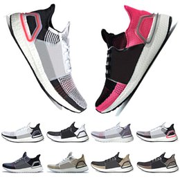 da3145f27 Sale 2019 Ultra Boost 19 Laser Red Refract Oreo mens running shoes for men  Women UltraBoost 5.0 White Black Sport Sneakers Designer Trainers