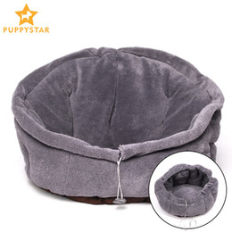 Dogs For Small Houses Australia - Cat Bed Cave House Warming Pet Dog Bed House For Small Dogs Puppy Soft Dogs Kennel Cat Kitten Sofa Breathable PY1020