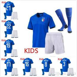 $enCountryForm.capitalKeyWord NZ - kids kit 2019 European Cup Italy home blue soccer jerseys Italian VERRATTI Totti 10 PIRLO 18 Buffon CANEREVA CHIELLINI jerseys uniform