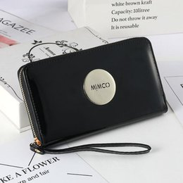 $enCountryForm.capitalKeyWord NZ - Hot wholesale fashion single zipper women pu leather wallet lady ladies long purse Free shipping