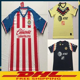 bad11a272 welcome to order DHL free shipping the best quality 2019 2020 Chivas 19 20  America Jerseys spot welcome order size can be mixed batch