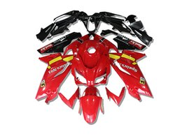 China Injection mold New ABS Full Fairings kit Fit for Aprilia RS125 06 07 08 09 10 11 RS 125 2006 2007 2011 Bodywork set Red cheap aprilia rs 125 fairing set suppliers