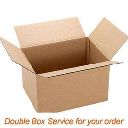Опт Оплата услуги двойной коробки [EPAACKET 5usd][DHL EMS не может двойная коробка] дополнительная плата за двойную коробку