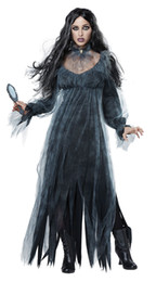 $enCountryForm.capitalKeyWord Australia - Promotion Halloween Horror Ghost Zombie Bride Lost Sexy Costume Women Girls Bar Stage Wear Party Vampire Demon Long Dress Cosplay Costumes