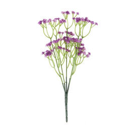 $enCountryForm.capitalKeyWord UK - 1 pc DIY Blooming Plastic Babysbreath Simulation Flowers Artificial Flowers with 5 Branches for Decorating Wedding Home Party