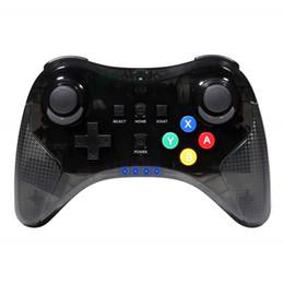 Red Wireless Controller UK - Wireless Bluetooth Gamepad For Nintendo Wii U Pro Hand Joypad Gaming Wireless Controller Bluetooth Pro Gamepads