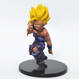 Chinese  Super Saiyan Doll Dragon Ball Action Figure Japanese Cartoon PVC Son Gohan Collectible Hot Sale 10fw F1 manufacturers