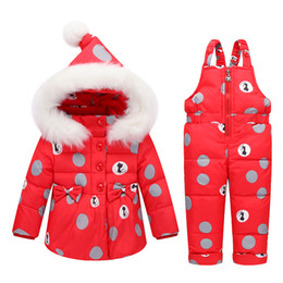 $enCountryForm.capitalKeyWord Australia - good quality baby girls clothing set newborn down clothes suit cartoon tops jacket +pants 2pcs kids girl winter warm suit