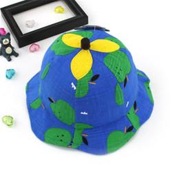 $enCountryForm.capitalKeyWord NZ - Infant Kids Soft Cotton Sun Hats Summer Outdoor Breathable Cap Toddler Baby Girls Boys Beach Sunhat Suit For 6-24 Month