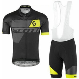 $enCountryForm.capitalKeyWord NZ - 2019 summer NEW SCOTT men Cycling short sleeve bib shorts Set MTB Bike Clothing Breathable Comfortable cycling jerseys Ropa Ciclismo Hombre