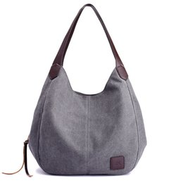 Cute Canvas Handbags Australia - good quality 2019 Women's Handbag Cute Girl Tote Bag Lady Canvas Hobos Shoulder Bag Female Large Capacity Small Leisure Bag Bols
