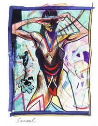 $enCountryForm.capitalKeyWord Australia - Samarel Abstract Nude Art Bikini Girl ,Oil Painting Reproduction High Quality Giclee Print on Canvas Modern Home Art Decor W1100