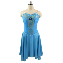$enCountryForm.capitalKeyWord UK - Lake Blue Cupid Ballet Costumes Skirt Child Professional Ballet Skirt Dance Costumes peach pink Short Skirt Diana Acteon Modern Dance Wear