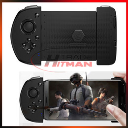 wireless gamepad iphone NZ - GameSir G6 Mobile Phone Gamepad Game Wireless 3D Joystick Controller Shooter Trigger Fire Joysticks Handles for IOS iPhone Android Samsung