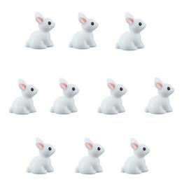 Terrarium For Australia - miniature fairies 10pcs Set Mini Rabbit Animal Miniature Fairy Garden Miniatures For Terrariums Home Crafts Decor Ornament Doll