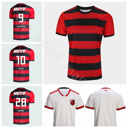 2f9036766 Flamenco Soccer 10 DIEGO Jersey 2018 2019 Men 9 GUERRERO 20 URIBE 11  PAQUETA 7 RIBEIRO Football Shirt Kits Uniform Custom Name Number