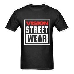 bab11b5c88c Vision Street Wear Tee Tshirt For Men High Quality Custom Printed Tops  Hipster Brand-Clothing T Shirts 2018 New Tee Print