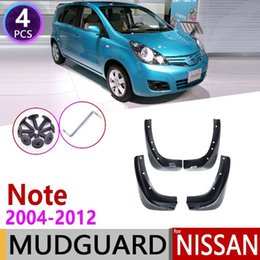 $enCountryForm.capitalKeyWord Australia - Free shipping!2004 2005 2006 2007 2008 2009 2010 2011 2012 car styling Mud Flaps Splash Guards cover fender mudguard for Nissan note E11