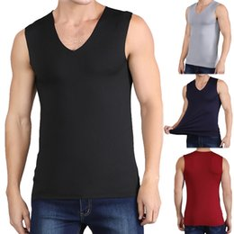 $enCountryForm.capitalKeyWord Australia - Brand Gyms Stringer Clothing Bodybuilding Tank Top Men Fitness Singlet Sleeveless Shirt Solid Cotton Muscle Vest Undershirt