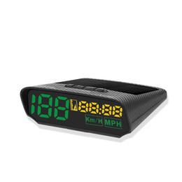 Car Heads Up Display Australia - TLXC X100S HUD GPS Head Up Display with Solar Panel Digital Speedometer Car Headup Auto Safe Warning Altitude Diagnostic Tool