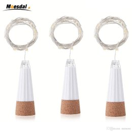 Decoration For 15 Party Australia - Hot Sale 1.5M 15 Led Wine Bottle Glass Cork Light USB Rechargeable LED Fairy String Light For Party Wedding Christmas Decoration