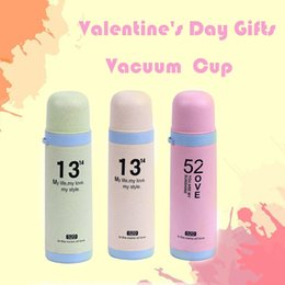 $enCountryForm.capitalKeyWord Australia - Hot Quality Simple Valentines Day Cup Coffee Drink Bottle Cup Vacuum School Straight Drinking Surprise Gifts #5