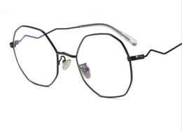 ff8bc1dc24 Can match myopic glasses female male Han version Chao Street shot retro  plain color flat light round frame with degrees