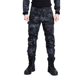 Discount camouflage paintball - Tactical Pants Men Camouflage Cargo Paintball Pants SWAT Army Special Soldier Hunter Field Work Combat Trousers