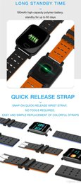 smart watch phone dhl Australia - A6 Wristband Smart Watch Touch Screen Water Resistant Smartwatch Phone with Heart Rate Smart Bracelet Monitor Sport Running via DHL