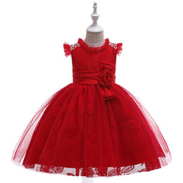 $enCountryForm.capitalKeyWord UK - Girls dresses 2019 kids clothing lace tutu dresses Princess frock Children's Cosplay CostumeTail Dress Sequined Cloak Mesh Dress
