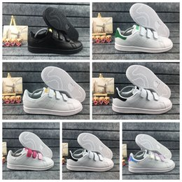 $enCountryForm.capitalKeyWord Australia - eur22-35 Baby Kids shoe For children boys girls Kawakubo indoor outdoor boy girl green pink white black stan smith samba casual Shoes