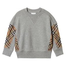 $enCountryForm.capitalKeyWord NZ - Fall baby Boys plaid sweatshirt kids splicing lattice long sleeve casual pullover children cotton jumper designer kids clothes C5529