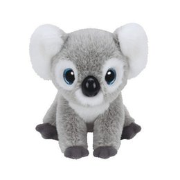 $enCountryForm.capitalKeyWord UK - Ty Beanie Boos 25cm Koala Plush Big-eyed Stuffed Animal Collectible Doll Toys for children