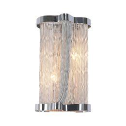 $enCountryForm.capitalKeyWord Australia - Modern Aluminum Chain Wall Lamps Engineering Design Luxury Chain Tassel Aluminum Chain Wall Lamps Bedside Wall Lights(BK-59)