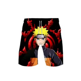 designer mens shorts sale Australia - Men's Shorts Anime Naruto Shorts Naruto Designer Mens Summer Fashion Beach Pants High Quality Short For Sale