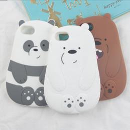 $enCountryForm.capitalKeyWord Canada - Silicon Case Panda Polar Bear Cat Duck Pig Drunk Cute Phone Cover for iPhone XR XS Max X 8 7 6 6S Plus