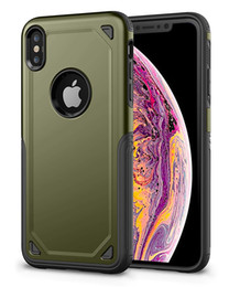 $enCountryForm.capitalKeyWord Australia - Matte Finished Armor Case For iPhone 6 6s 7 8 Plus X Xr Xs Max Cover Hard Dual Layer Protector Armor Anti Fingerprint