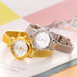 Wholesale Female Wrist Watches Australia - Female Fashion Smart Watch Quartz Analog Wrist Watch Small Dial Delicate Pretty Temperament Watches Luxury Business Watches Gift