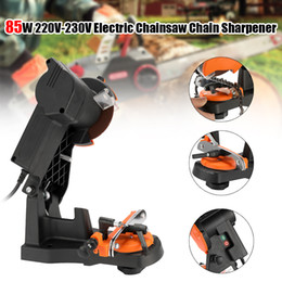 Electric Gardening Tools NZ - 85W Portable Electric Chainsaw Sharpener Chain Saw Grinder Grinding Machine Woodworking Power Tool for Garden Tools