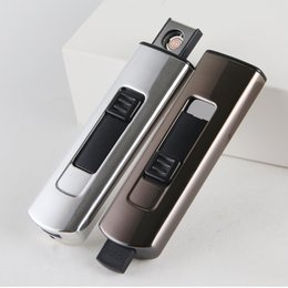 Design Electronic NZ - Newest Colorful USB Cyclic Charging Electronics Lighters Beautiful Plastic Innovative Design For Cigarette Smoking Pipe Tool Hot Cake DHL