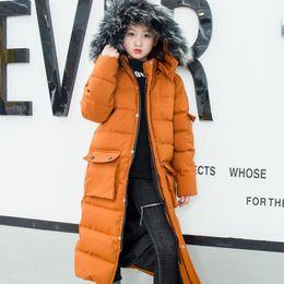 $enCountryForm.capitalKeyWord NZ - -30 Degree Winter Children's Down Parka Jacket 2019 New Warm Snowsuit Winter Extra Long Coat for Kids Girls Christmas Clothes 12