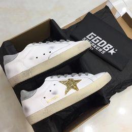 420da2d5264 gt Golden Goose Ggdb old skool Scarpe di lusso Genuine Leather ladies  tennis oxford shoes for men Luxury Superstar trainer sneaker