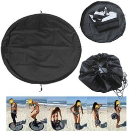 $enCountryForm.capitalKeyWord NZ - Water Sports Surfing Wetsuit Diving Suit Change Bag Mat Waterproof Nylon Carry Pack Pouch for Water Sports Swimming Accessories