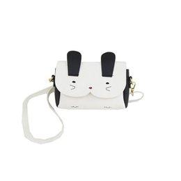 $enCountryForm.capitalKeyWord Australia - Woman Pu Leather Handbag Cartoon Bunny Package For Quality Lovely Small Bag Messenger Crossbody Bag For Girls