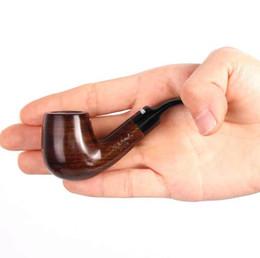 $enCountryForm.capitalKeyWord UK - New Ebony Bend Filter Mini Pipe Ebony Hammer Hand Fighting Man Portable
