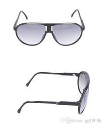 Опт 2018 Лето горячая распродажа Дизайн Большой каркас Металл Мода Cool мужчины женщина солнцезащитные очки с оригинальной коробке футляр для очков