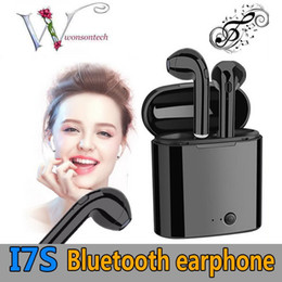 Twin Pack Australia - I7S TWS Bluetooth Headphone with Charger Case Twins Wireless Earbuds Earphones for iPhone X 8 7 Android Samsung S10 S9 with Retail Packing