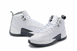 new chinese basketball shoes NZ - Men Basketball Shoes 12 White Dark Grey Cny Chinese New Year Multicolor Winterized 12s Gym Red Trainers Designer Sports Sneakers Size 7-13